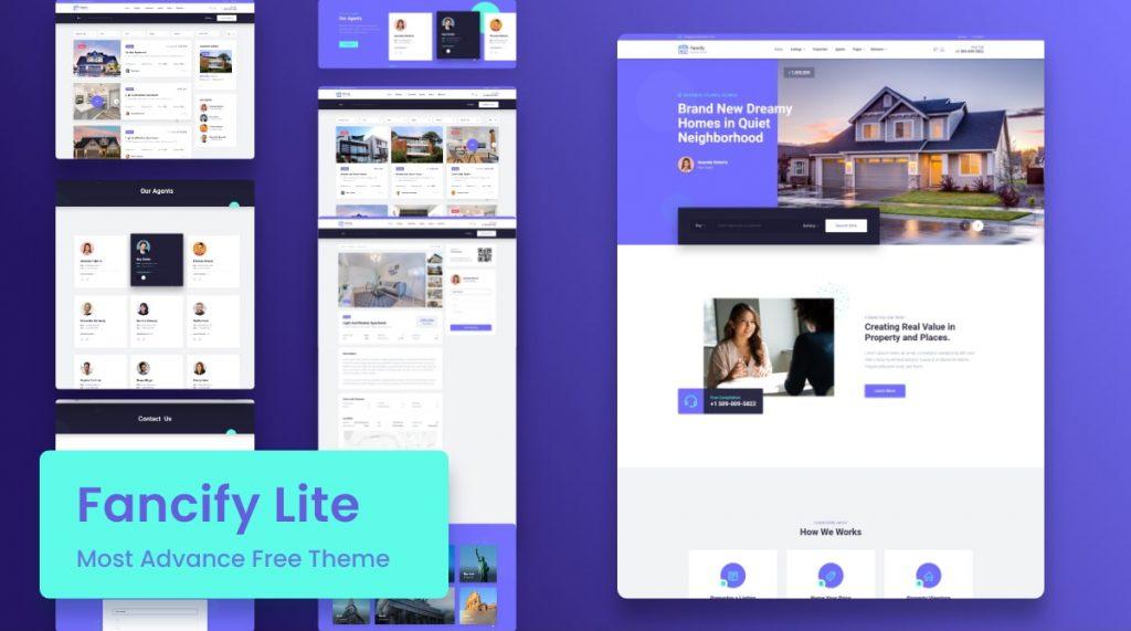 Fancify Lite - Real Estate WordPress Theme