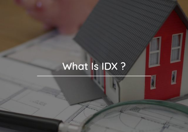 What is IDX  in real estate terms?
